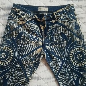 Free People Jeans - Free People Discharge Bali flare jeans